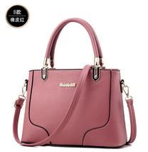 Mixed Color Leather Women Handbags Free Shipping Large Shoulder Bags L220-9 - ₨2,525.54 INR+
