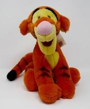 """Walt Disney World Winnie the Pooh 12"""" Sitting Tigger Stuffed Plush w/Tags - $14.01"""
