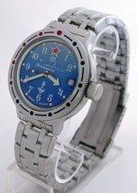 Vostok Amphibian 420289 Russian Diver Watch U-Boot Commander of Submarine  - $72.21