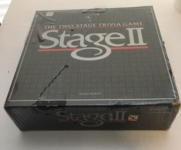 Stage II 2 Two Stage Trivia Game 1985 Milton Bradley Board Game Vintage NEW RARE - $41.80