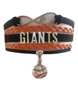 San Francisco SF Giants Baseball Fan Shop Infinity Bracelet Jewelry - $11.99