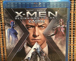 X-Men Beginnings Trilogy (3-Disc Blu-ray,2016)Apocalypse/First Class/Days Future