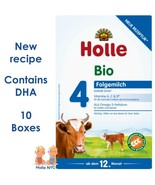 Holle stage 4 Organic Formula with DHA 10 Boxes 600g Free Shipping - $258.95
