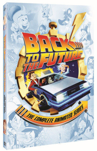 Back To The Future: The Complete Animated Series DVD Set TV Show Cartoon