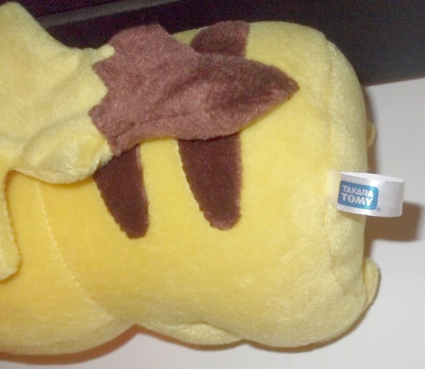 LICENSED (NOT China illegal copy) VINTAGE TOMY Pokemon Pikachu plush about 9""