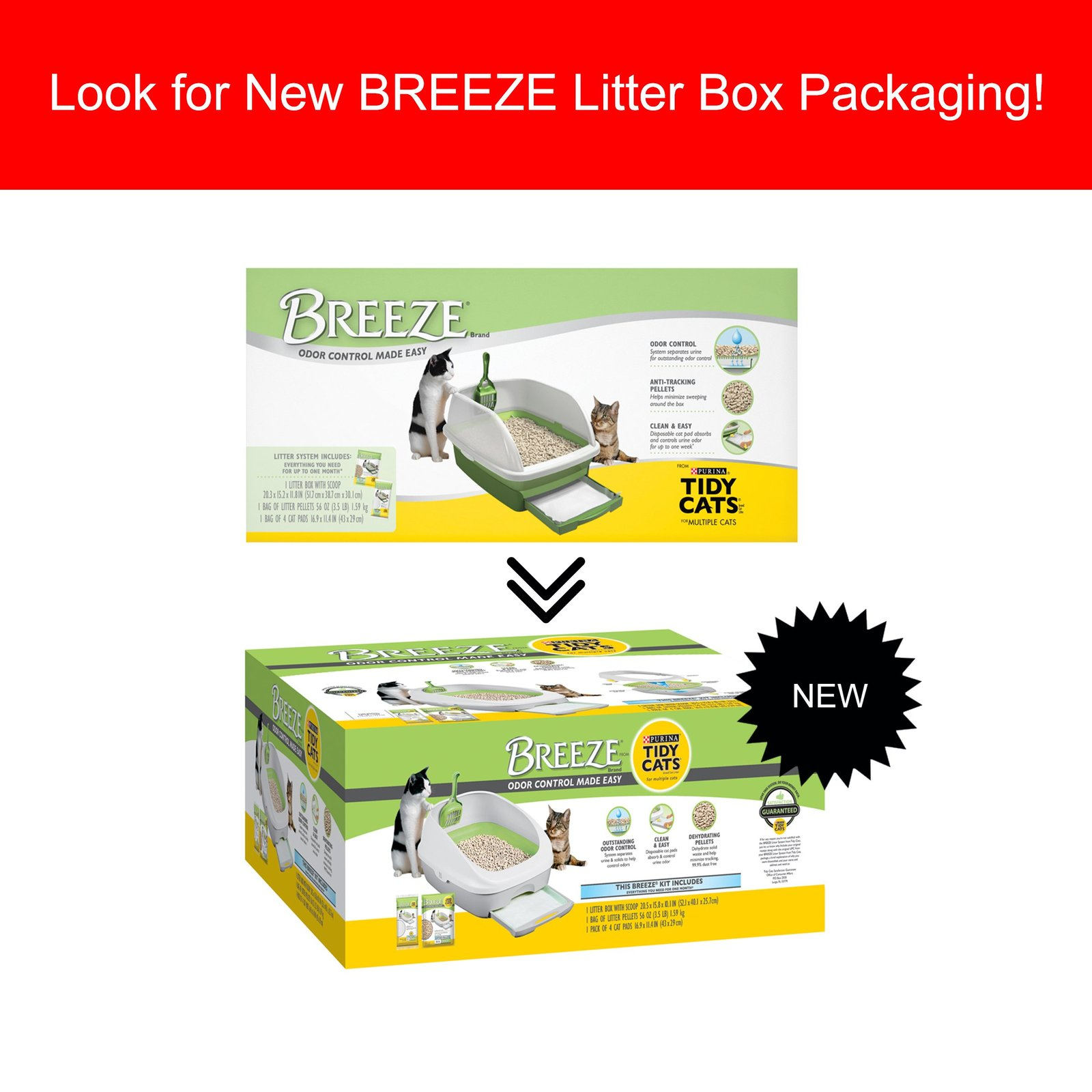 Tidy Cats Breeze Litter Box System Coupons