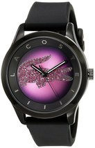Lacoste Women's 2000918 Victoria Analog Display Japanese Quartz Black Watch - $208.55