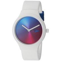 Lacoste Unisex 2020109 Goa Analog Display Japanese Quartz White Watch - $96.03