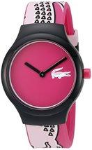 Lacoste Unisex 2020115 Goa Analog Display Japanese Quartz Pink Watch - $96.03