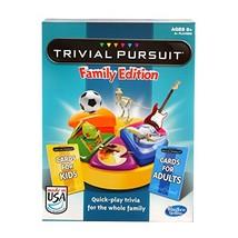 Hasbro Trivial Pursuit Family Edition Game, Game Night, Ages 8 and up(Am... - $28.12