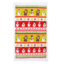 Printing Santa Claus Tea Towel Kitchen Cleaning Towel Table Cloth Christ... - $2.96