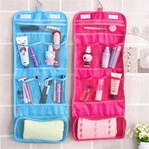 Portable Hanging Travel Foldable Cosmetic Makeup Case Wash Toiletry Stor... - £2.86 GBP