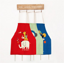 Cartoon Animal Printed Cotton Linen Kitchen Cooking Cloth Adult Child We... - $4.22+