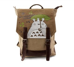 My Neighbor Totoro Holding Umbrella School Cute Bag Backpack - $56.99