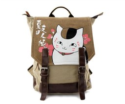 Natsume Yuujinchou Madara Cat Trip School Cute Bag Backpack - $56.99