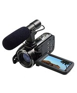 Ordro Full HD Digital Video Camera with Microphone- 8GB SD Card as a Fre... - $149.99