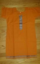 Women's Cotton Orange Tunic Shirt Blouse Top  Size M  NWOT - $13.81