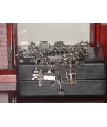 1960's Sterling Silver Multi Charm Bracelet - (... - $173.25