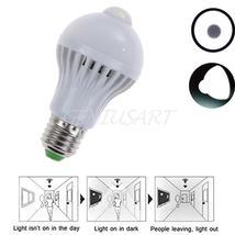 E27 5w motion sensor led bulb auto pir motion detection  - $6.90