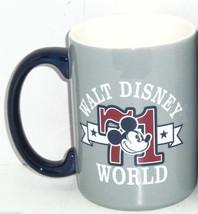 Walt Disney World Mickey Mouse 1971 Coffee Cup Mug Ceramic Theme Parks New  - $44.95