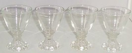 """8 Anchor Hocking Boopie Clear Juice Glass Drinking 4"""" Vintage  - $169.95"""