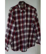 Vintage Great Plains Clothing Co. Mens XL Plaid Long sleeve Shirt 100% c... - $9.89