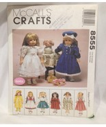 "McCall's  18"" and Gotz Doll Pattern Number 8555 - $9.75"