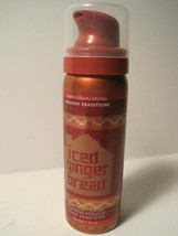 Bath & Body Works Holiday Traditions ICED GINGER BREAD Hand Sanitizer 1.... - $8.90
