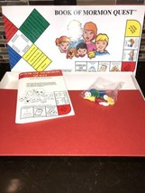 Vintage Book Of Mormon Quest LDS Family Board Game Horizon Games 1993 Co... - $19.79