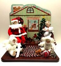 Snowbabies at Christmas Santa & Mrs. Claus Collectors Set Ashton Drake G... - $89.09