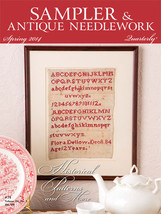 CLEARANCE Sampler & Antique Needlework Quarterly Spring 2014  magazine issue - $3.50
