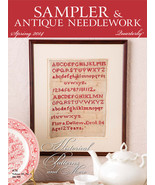 CLEARANCE Sampler & Antique Needlework Quarterly Spring 2014  magazine i... - $3.50
