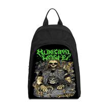 MUNICIPAL WASTE Grindcore Metal Rock Band Casual Backpack - $45.99