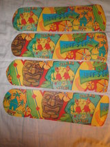 Custom Surf's Up BIKINI TIKI HUT Island Living Hawaiian Hula Girl Ceilin... - $99.99