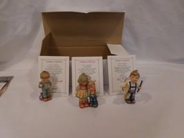 Hummel Goebel Christmas Ornament Little Brother Letter To Santa + Strin ... - $29.72