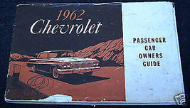 1962 Chevrolet 409, 327, 283 Owners Manual - $45.00