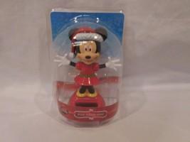 Minnie Mouse Christmas Solar Bobble Head Minnie Mouse (NEW) - $16.21