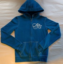 AEROPOSTALE - Blue Fleece Zip-up Hoodie - Junior's Size: S - $15.35