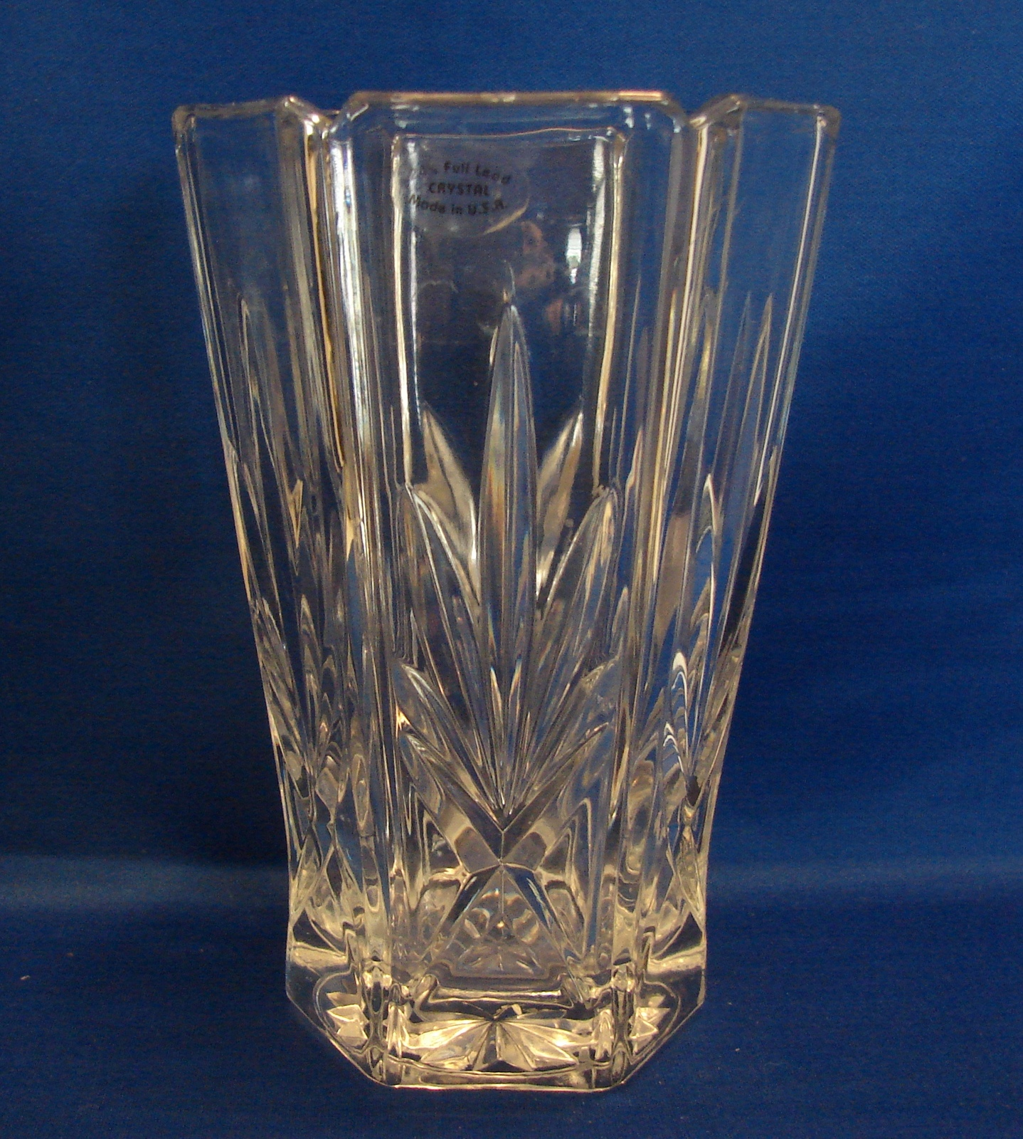 Gorham crystal vase 24 lead crystal and 50 similar items reviewsmspy