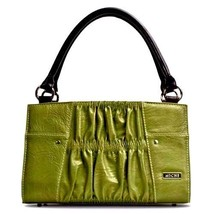 MICHE Classic Shell ERICA Retired -Olive Green Gathered Leather - $19.79