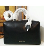 NWT MICHAEL KORS Kirby Large Pebble Leather Sat... - $286.40