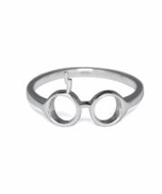 Silver Harry Potter Ring, 925 Sterling Silver, Glasses & Lightning Bolt ... - £11.06 GBP