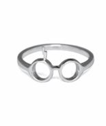 Silver Harry Potter Ring, 925 Sterling Silver, Glasses & Lightning Bolt ... - $14.55