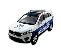 KIA SORENTO, ISRAELI POLICE CAR WELLY 1/38 DIECAST CAR COLLECTOR'S MODEL - $29.20