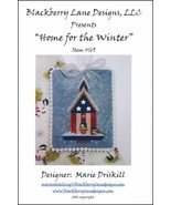 Home For The Winter cross stitch chart Blackberry Lane Designs   - $10.80
