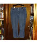 Riders By Lee Blue Denim Stretch Jeans  - Size 20W  - $19.99