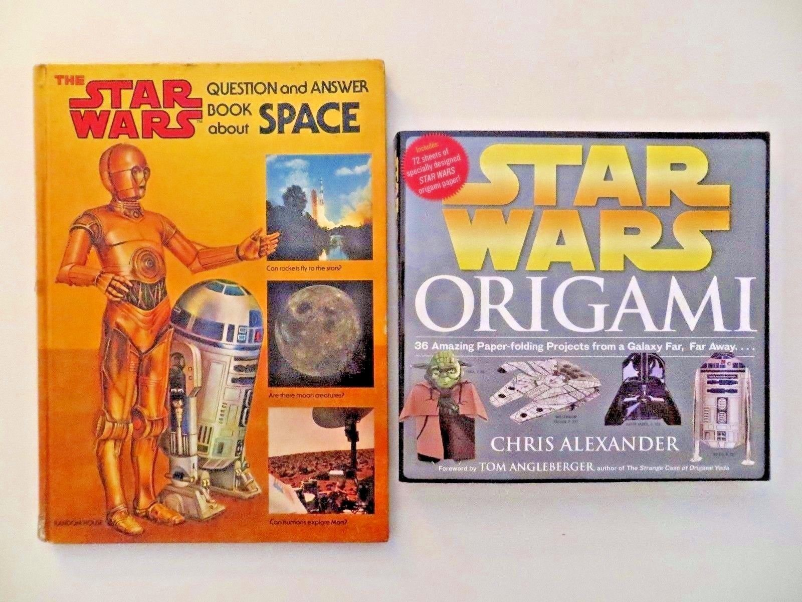 Lot Of 2 Books Star Wars Question And Answer And 50 Similar Items