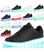 LED Unisex Light Lace Up Luminous Shoes Sneaker Sportswear Casual Shoes ... - $17.36