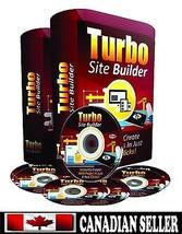 Turbo Site Builder Software 'Build Websites an... - $18.66