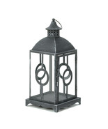 Charming Antique Distressed Grey Lantern - $35.00